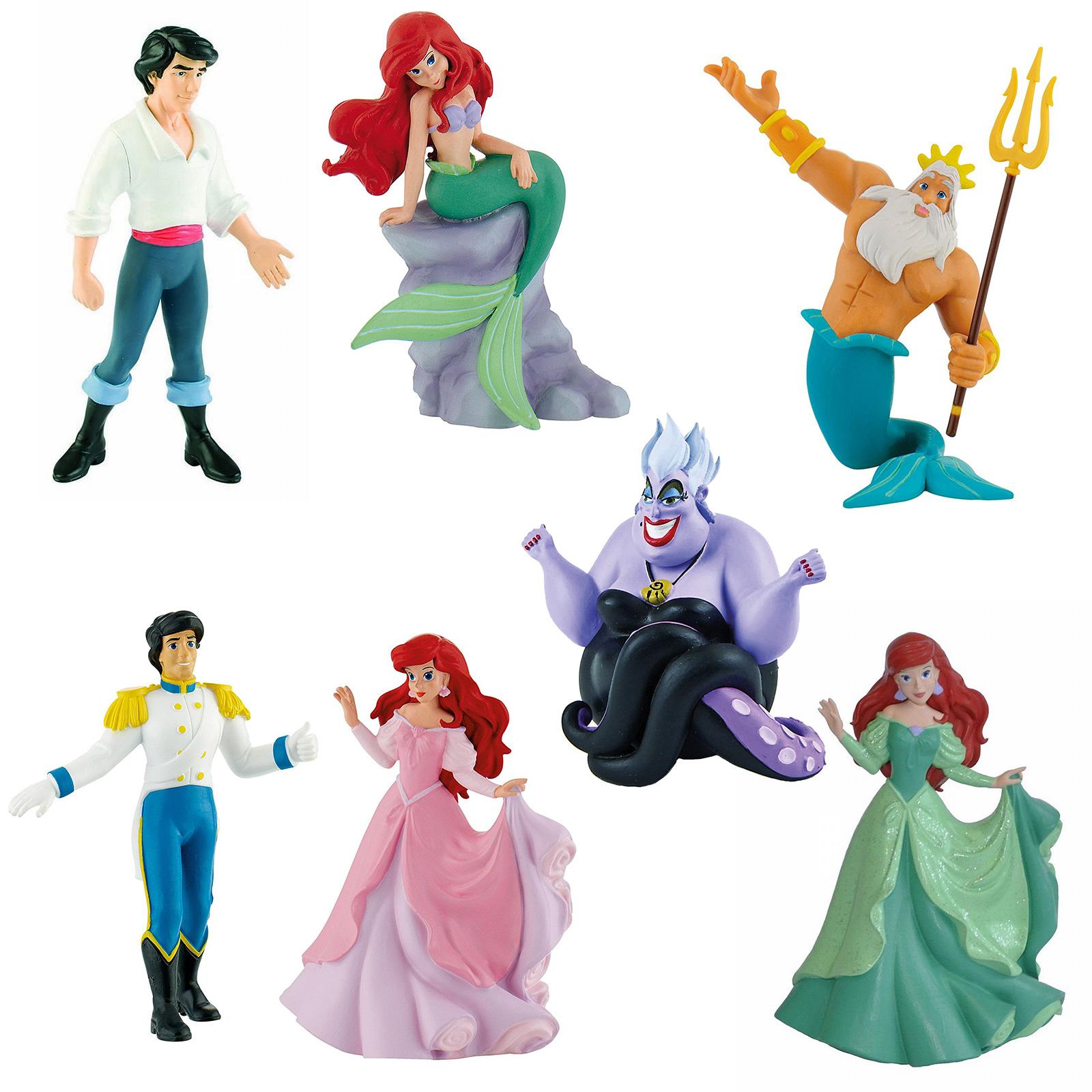 Bullyland Disney Arielle Triton Prinz Eric Ursula Meerjungfrau Film