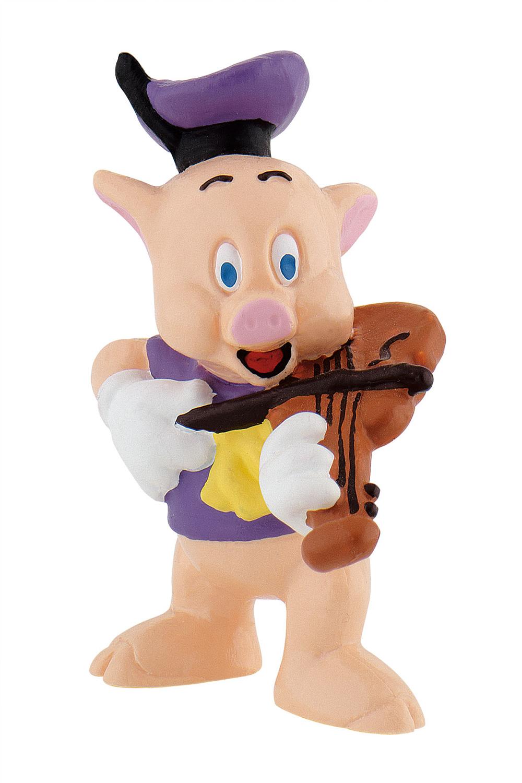 Bullyland Disney 3 Kleine Schweinchen Schlau Fiedler Pfeifer