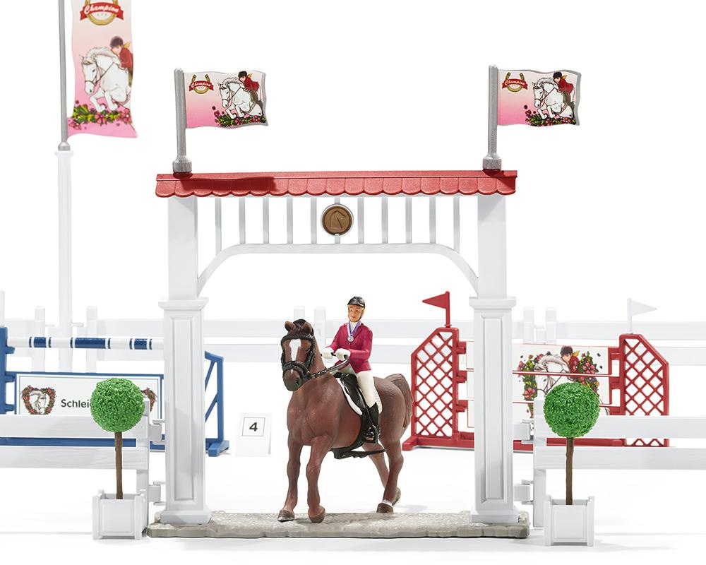 Schleich 42338 Großes Reitturnier mit Pferden Horse Club