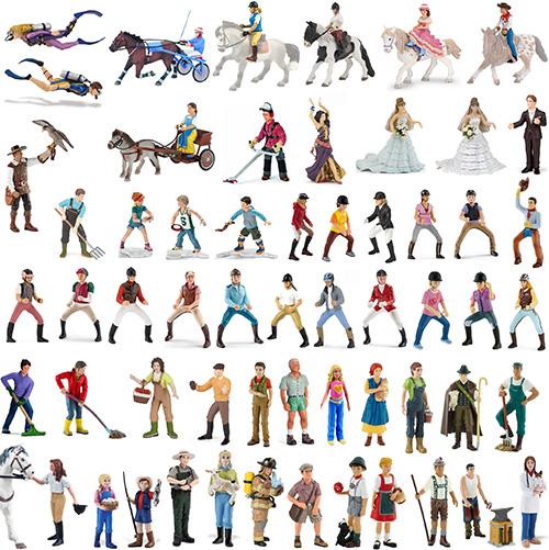 Action- & Spielfiguren Schleich Pferde und Schleich Menschen