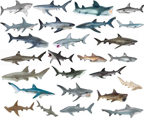 Bullyland Collecta Papo Safari Schleich Weißer Hai Hammerhai ...