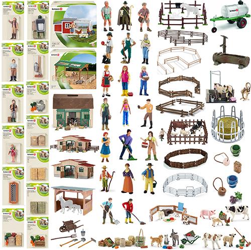 Schleich Zubehör HeuraufeSchleich Bauernhof ZubehörSchleich 41421 Action- & Spielfiguren